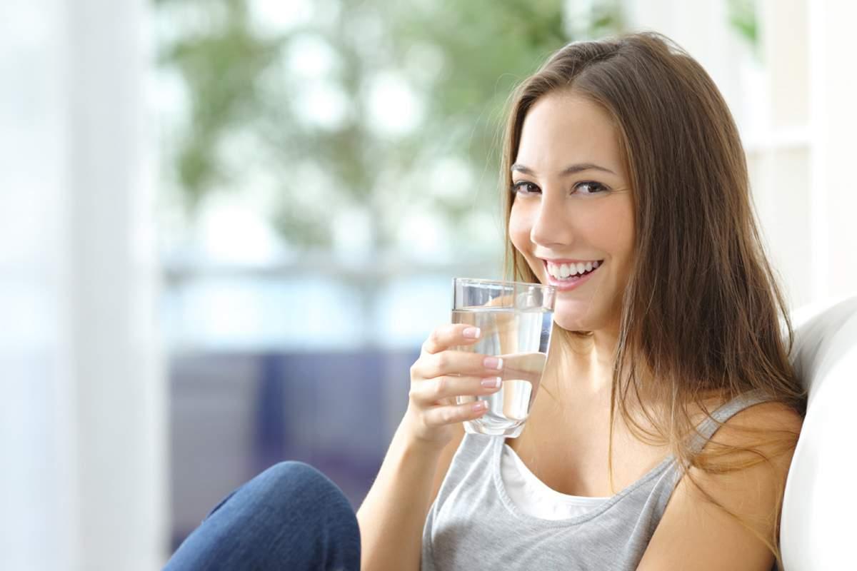 purificador de agua en casa