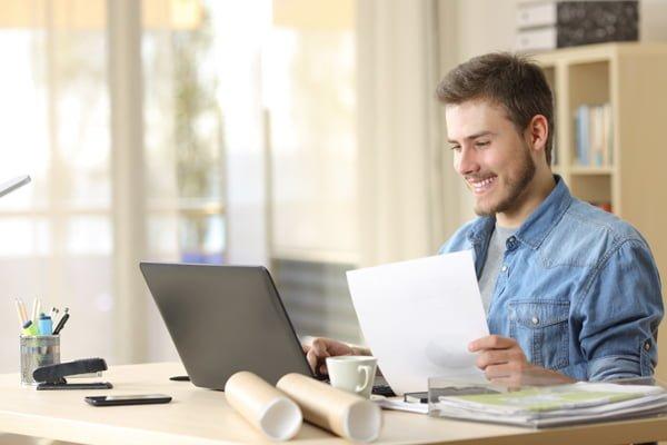 Beneficios de trabajar en casa