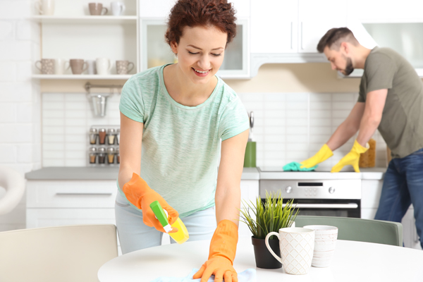 higiene en casa