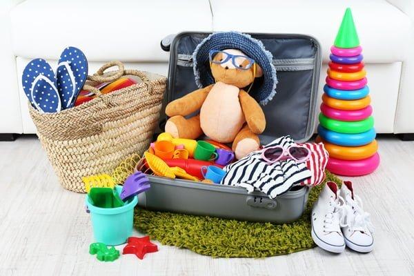 cómo armar la maleta de mi bebé