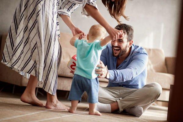 Como enseñarle a caminar a tu bebe