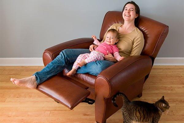 Reposapiés sillón reclinable