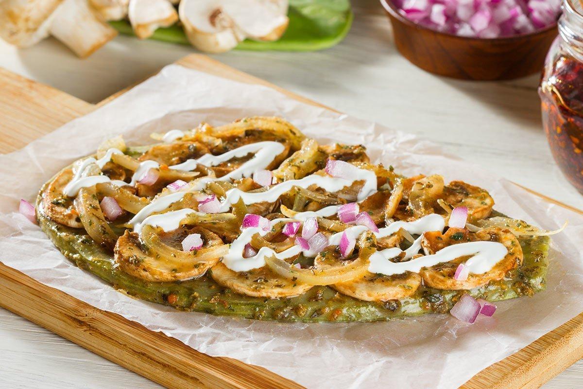Comida mexicana, Huarache de nopal