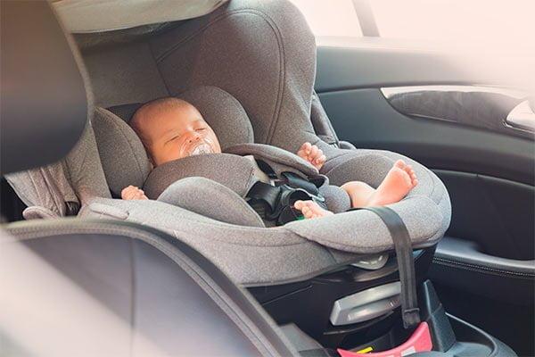 Autoasiento para bebé recién nacido