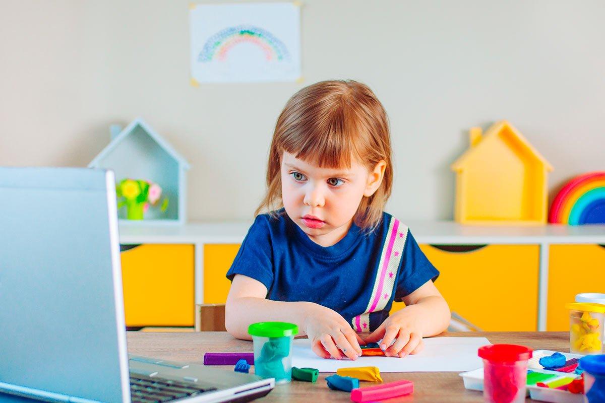 Primer día de clases en línea