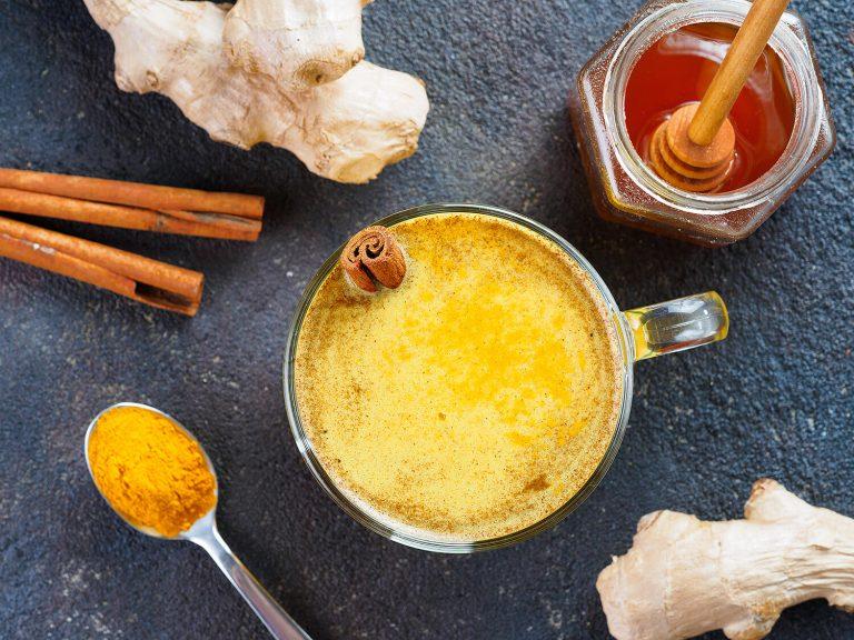 Receta Golden milk o leche dorada