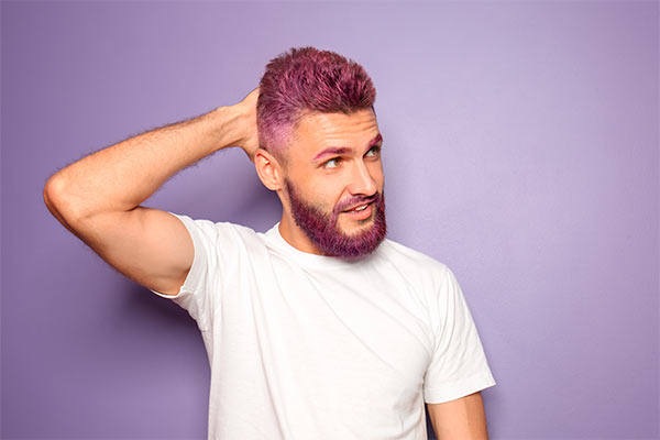 Tintes de cabello para hombres