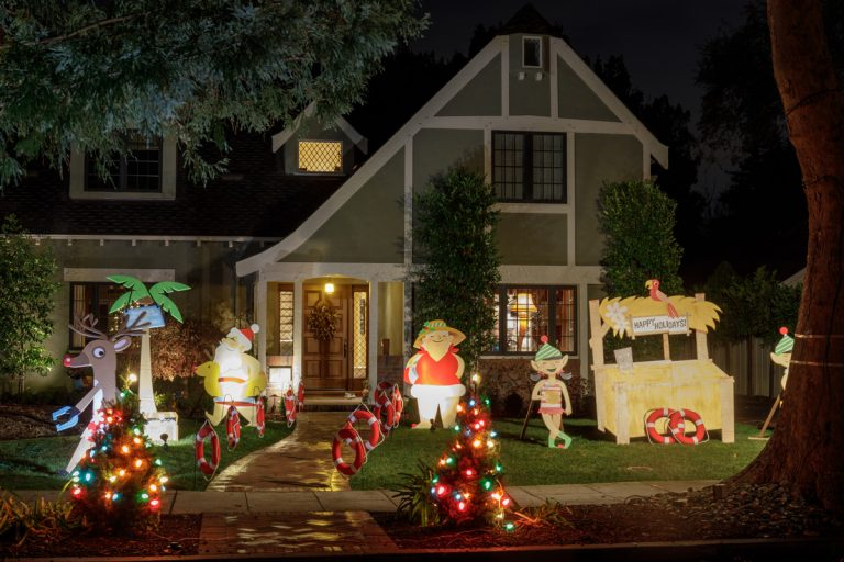 Inflables navideños