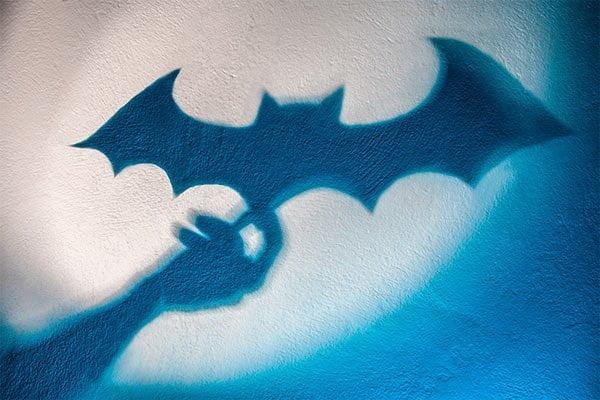 Señal de Batman para su disfraz