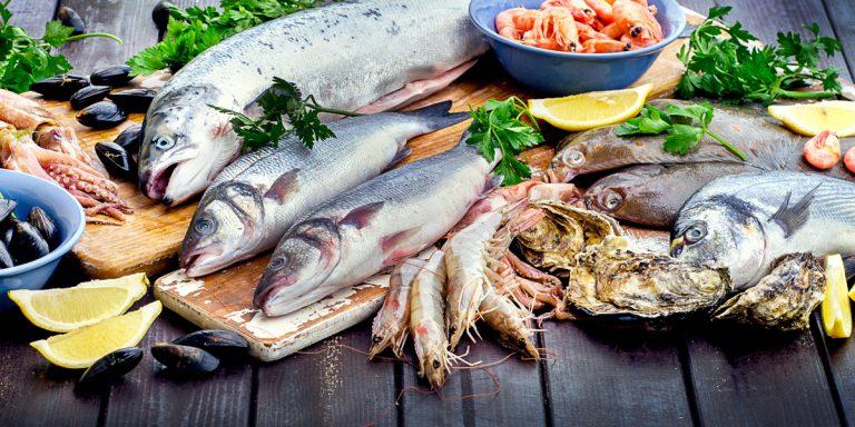 pescados y mariscos a domicilio
