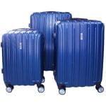 set maletas azul