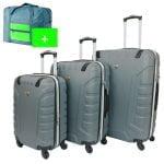 set maletas azul 4