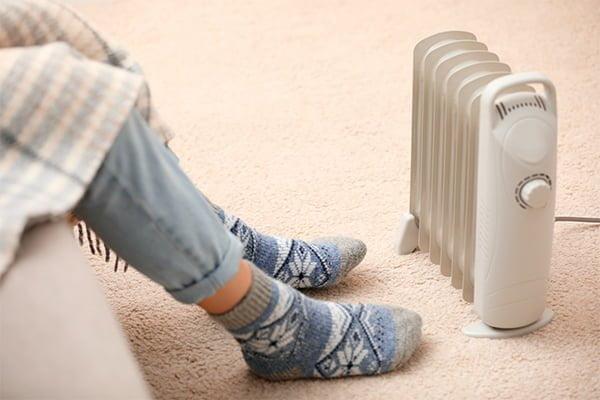 calefactores walmart
