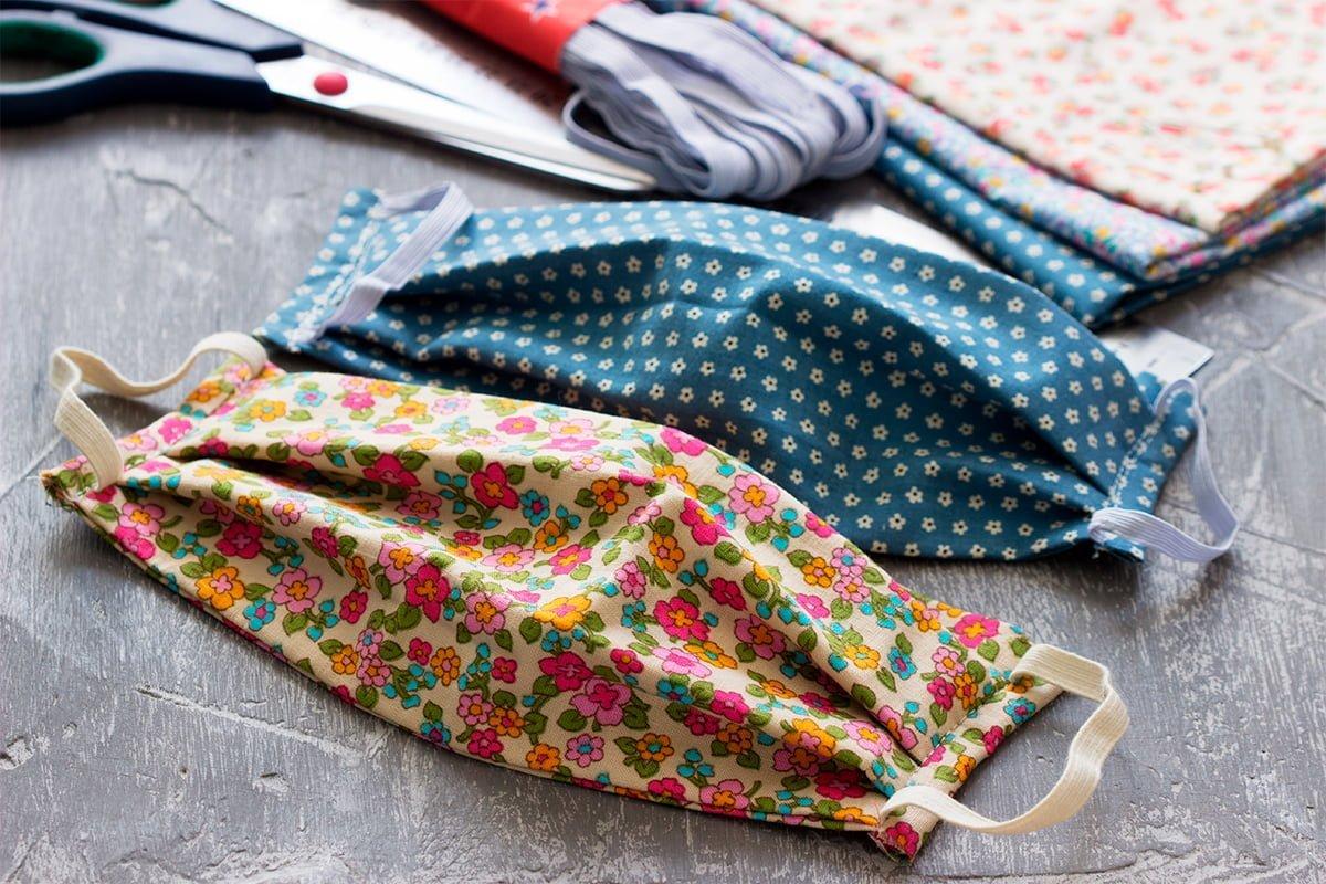 lavar cubrebocas de tela