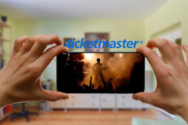Conciertos livestreaming Ticketmaster