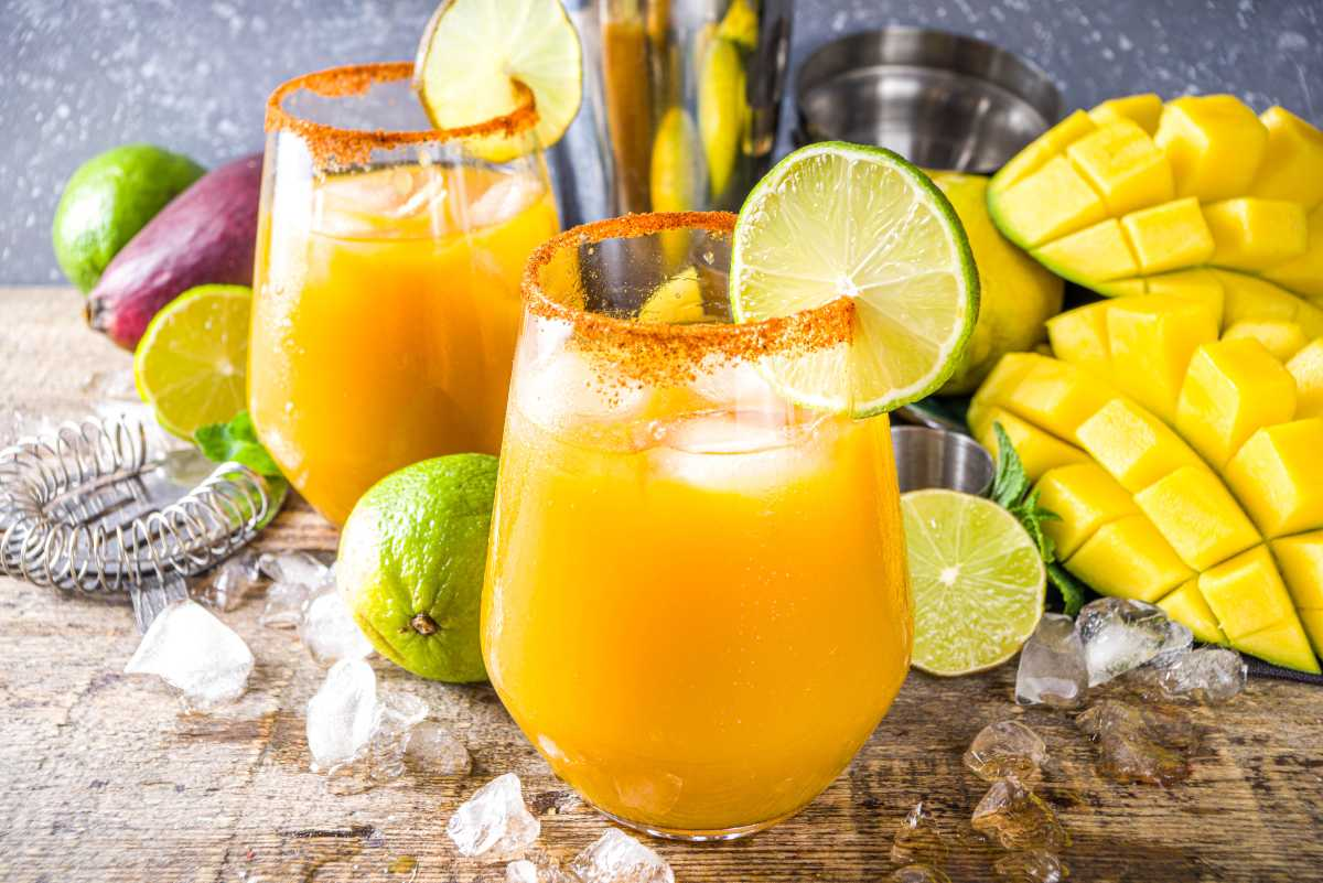 Receta de limonada de mango