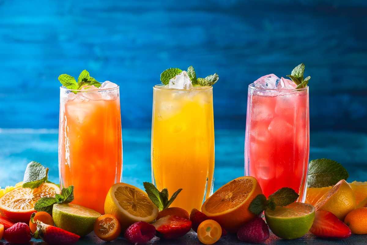 Recetas de limonadas de frutas