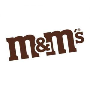 Chocolates para San Valentín M&Ms