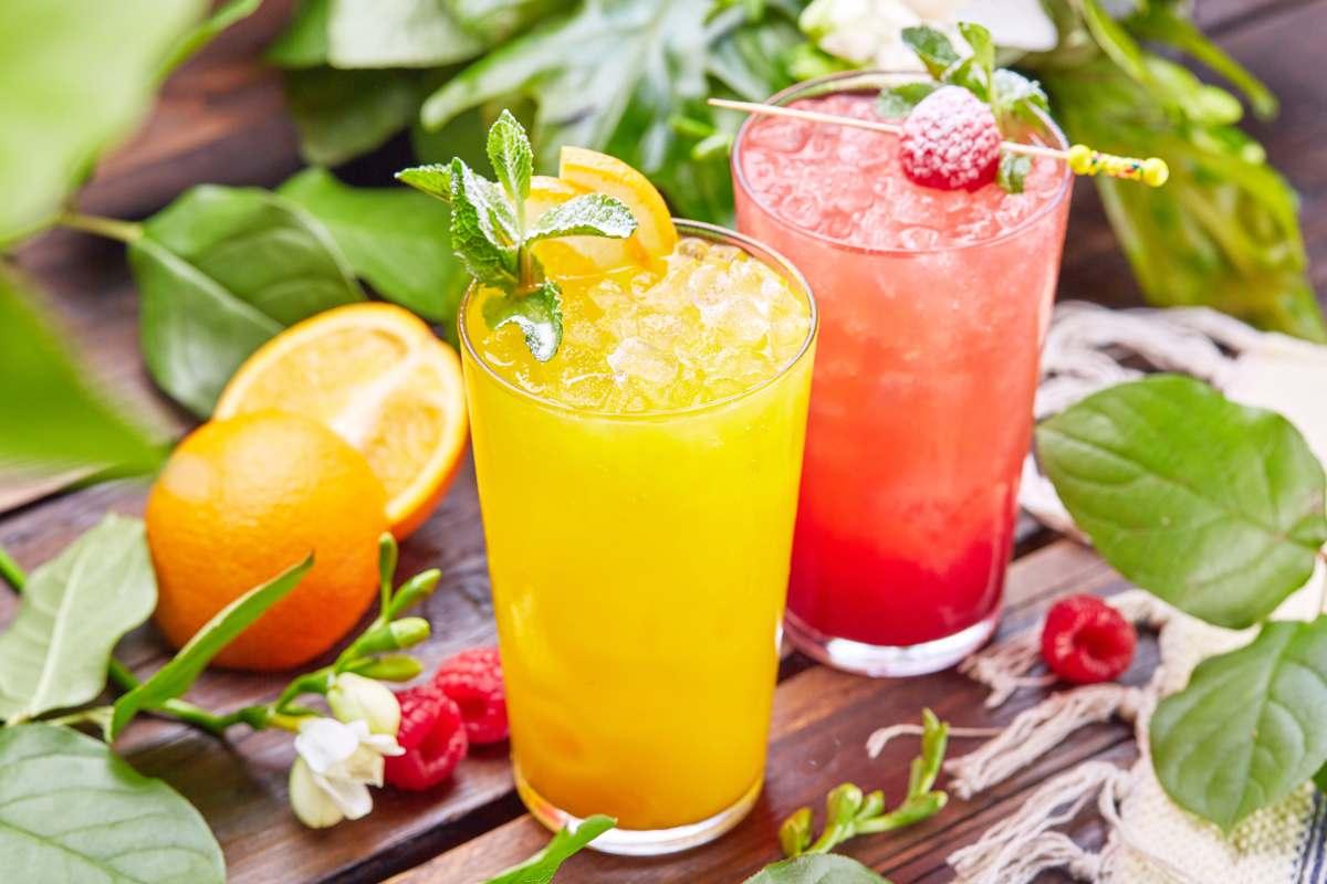 Cocteles con o sin alcohol