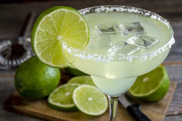 Cocteles con alcohol, Margarita de limón