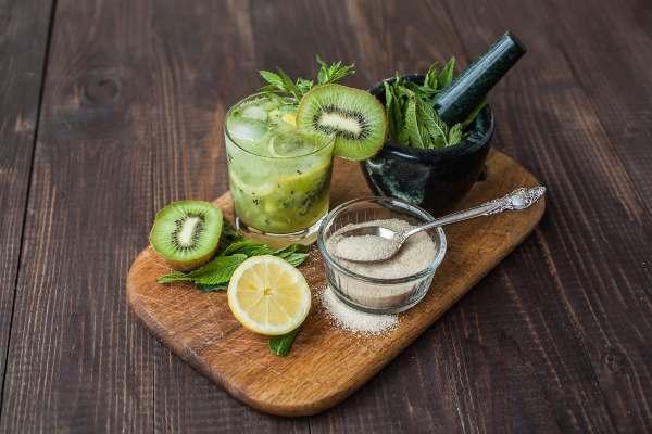 Mojito de kiwi, Cocteles refrescantes