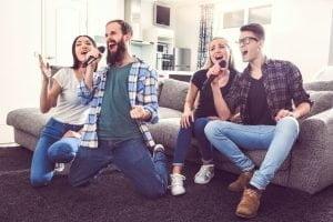 Ideas para reuniones en casa con musica y bocina