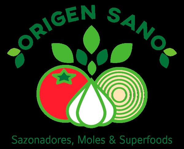 Logo sazonador Origen Sano