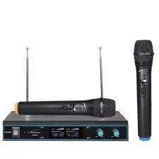 micrófono para idea de reunión en casa