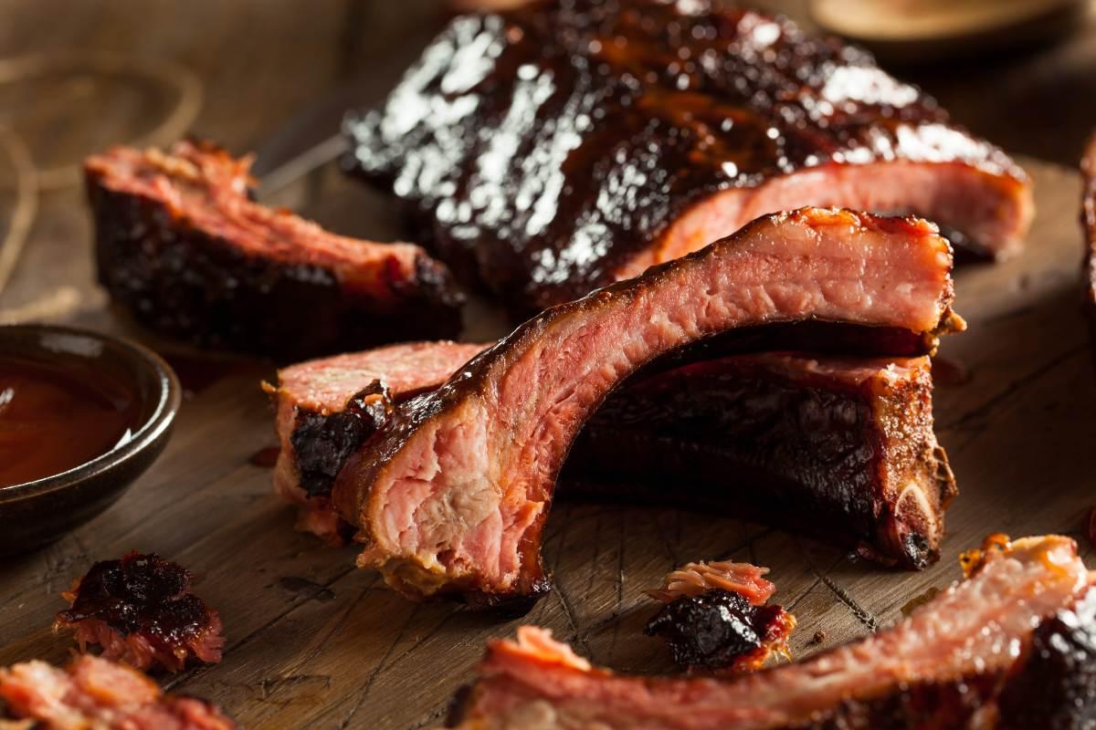 Costillas de cerdo a la BBQ