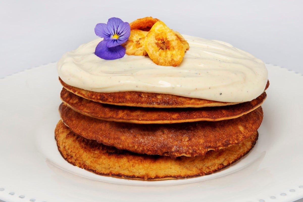 Receta de hot cakes de plátano