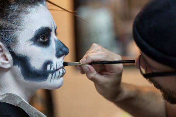 maquillaje para niños - halloween