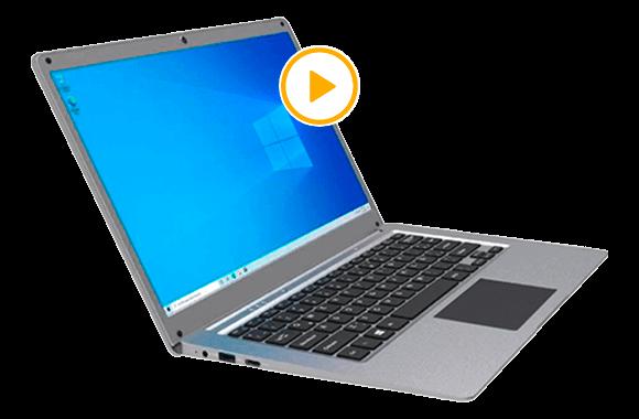 ATVIO LAPTOP INTEL CELERON 4G 64GB 14P