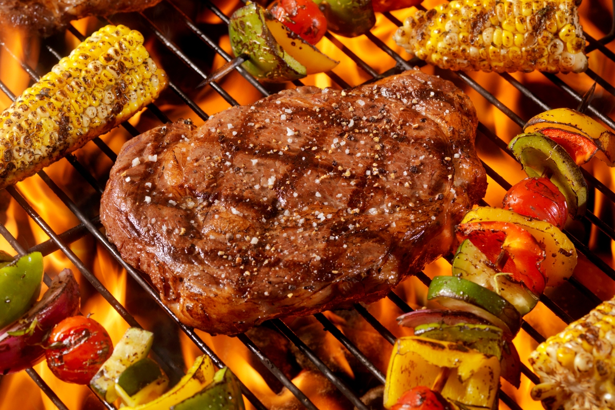 corte de carne premium rib eye