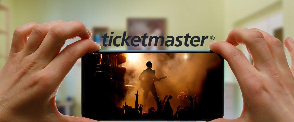 Conciertos en línea, Bonificación Ticketmaster