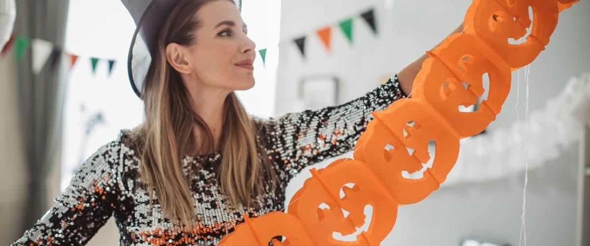 decoración para halloween 2021
